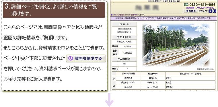 詳細ページを開くと、より詳しい情報をご覧頂けます。